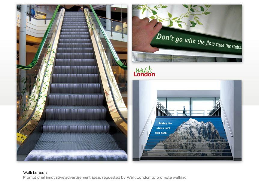 Graphic Design & Advertising Ideas for Walk London