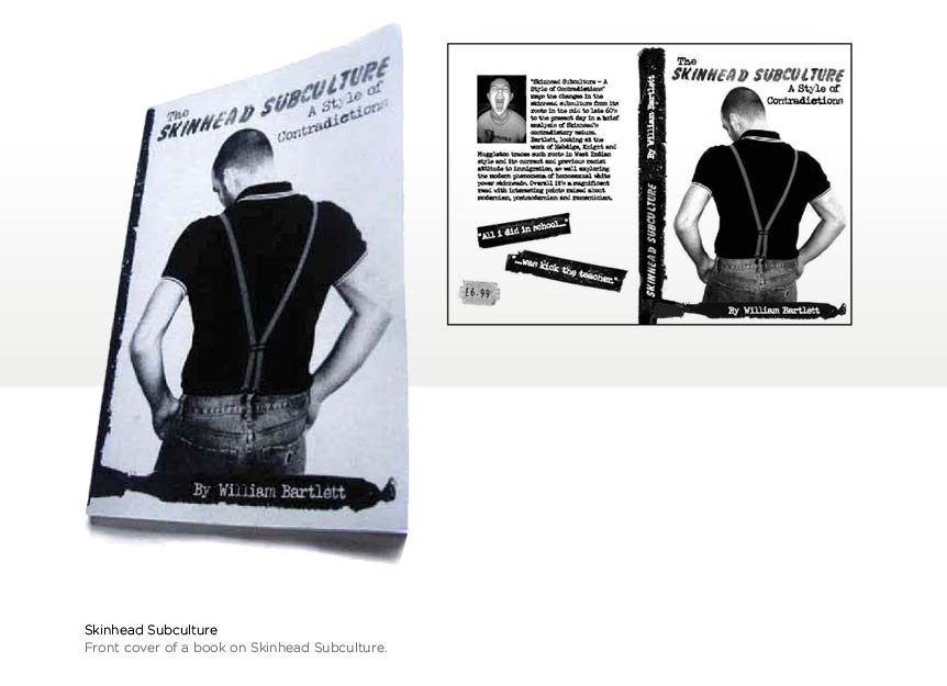 Bookcover for Skinhead Subculture book