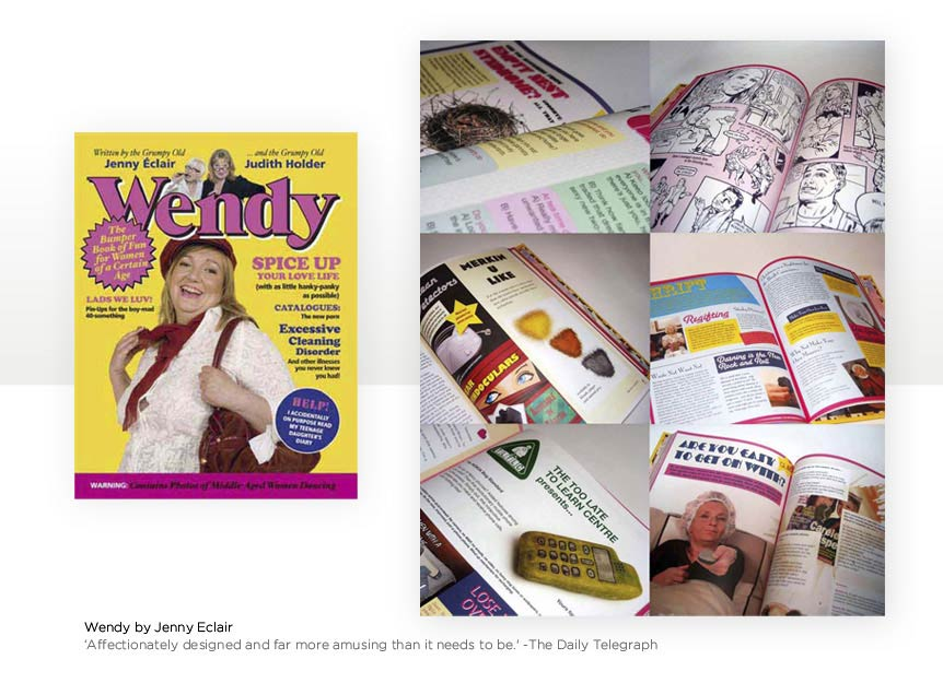 Pastiche Book Design for Wendy