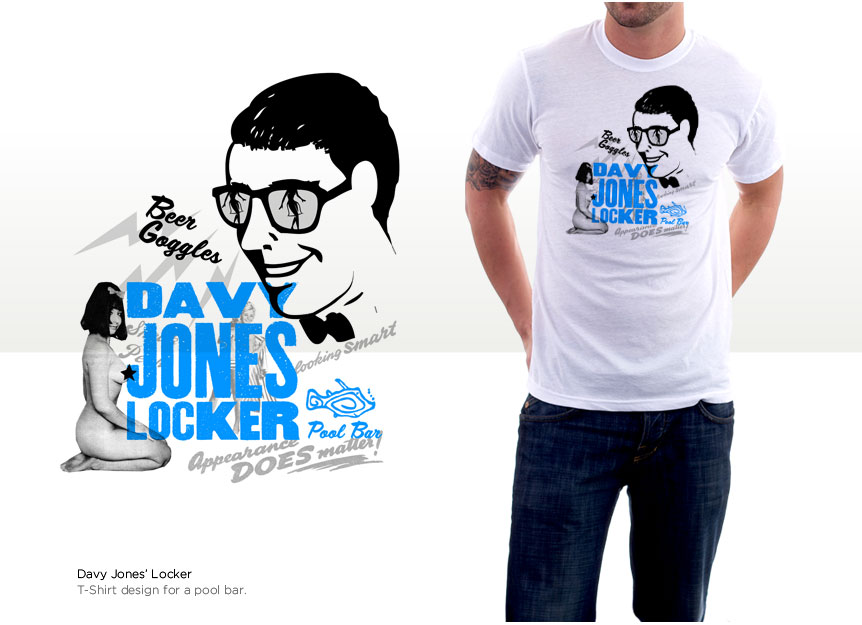 T-shirt design for DJL Bar