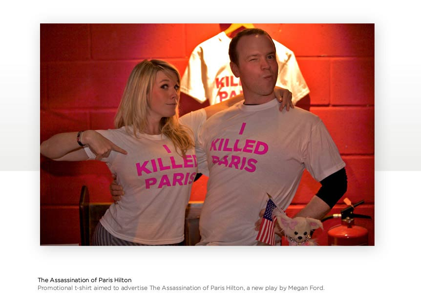 I Shot Paris Hilton Tee