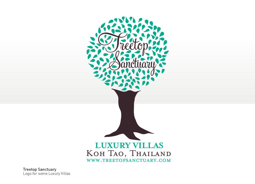 Logo Design for Luxury Villas